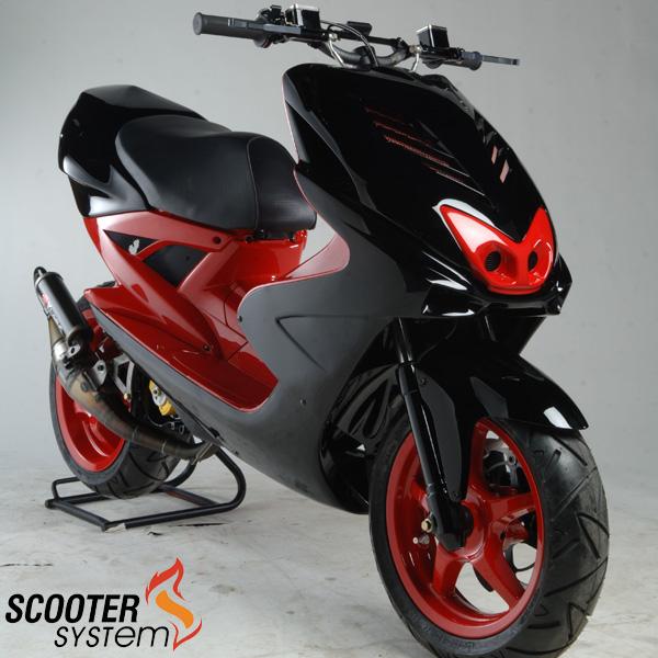 Scooter Attack это тюнинг скутеров.